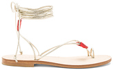 CoRNETTI Ventroso Sandal in Metallic Gold. - size 39 (also in )