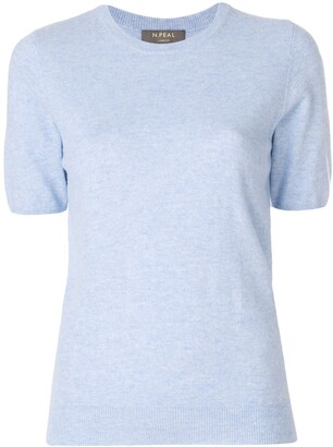 N.Peal cashmere round neck T-shirt