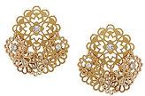 Kate Spade Golden Age Filigree Flower Shaky Earrings