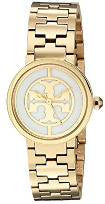 Tory Burch Reva Bracelet Watch - 28 mm (Gold - TBW4011) Watches