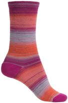 Merrell Vishu Stripe Socks - Merino Wool, Crew (For Women)