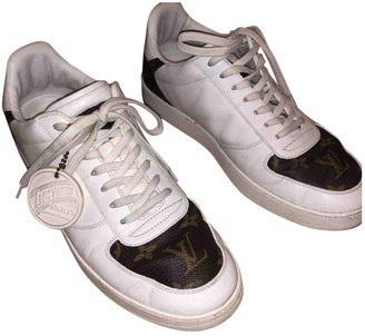 Louis Vuitton Rivoli White Leather Trainers