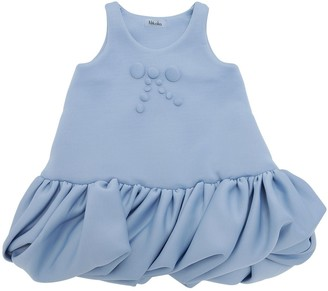 Nikolia Neoprene Sleeveless Party Dress