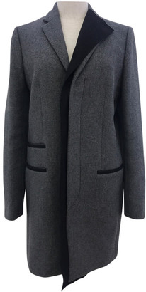 Balenciaga Grey Wool Coats