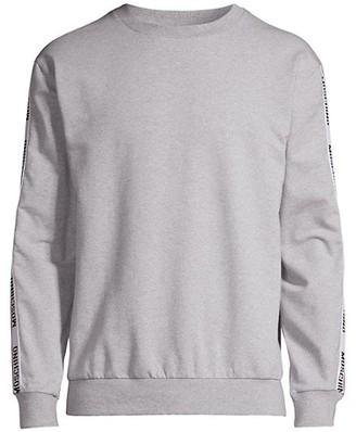 Moschino Logo Taping Sweatshirt