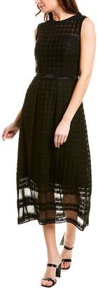 St. John A-Line Dress