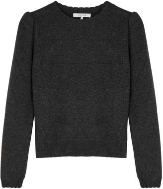Frame Madeline charcoal cashmere jumper