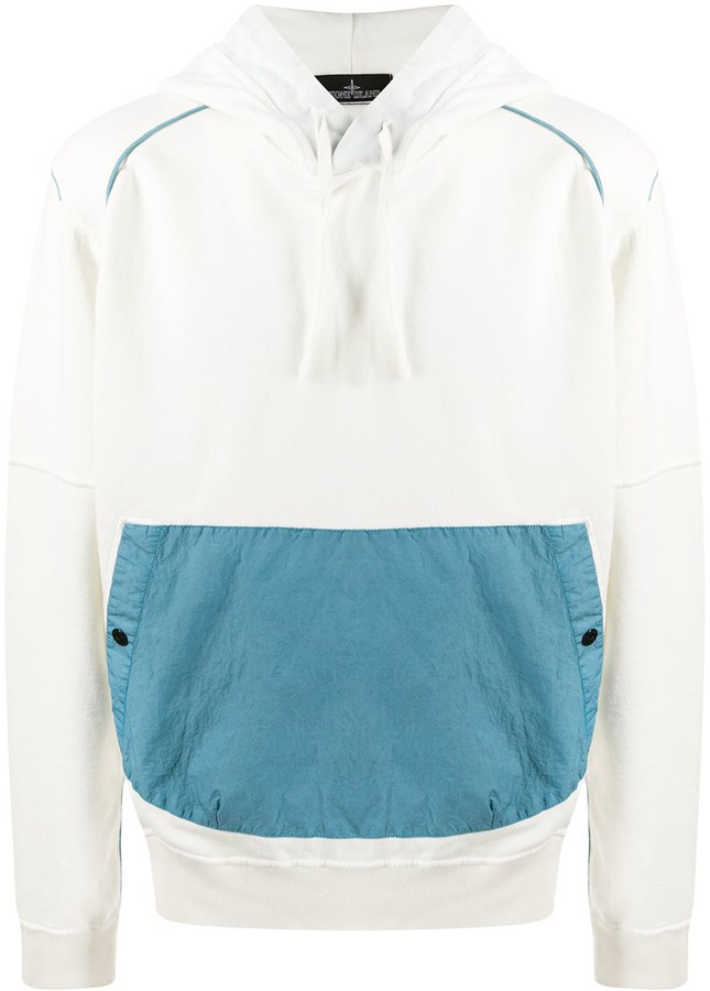 Stone Island Shadow Project Contrast Piped Hoodie