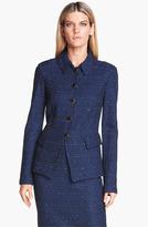 St. John Seam Detail Tweed Jacket