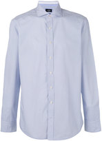 Hackett geometric print shirt - men - Cotton - M