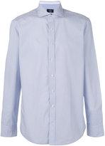 Hackett geometric print shirt