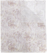 Pal Zileri printed scarf - men - Cotton - One Size