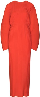 SOLACE London Mirabelle Ribbed Maxi Dress