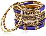 Amrita Singh Rupal Purple Set Bangle Bracelet