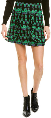 Anna Sui Mod Rosette Mini Skirt
