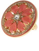 Kate Spade Gold Plated Embellished Grapefruit Ring