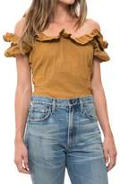 Sea Luna Ruffle Top
