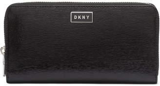 DKNY Gigi Leather Zip Around Wallet