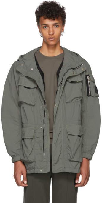 e06361fe0e Hooded Green Jacket Men - ShopStyle Canada