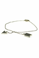 House Of Harlow Arrow Wrap Bracelet With Pave in Silver