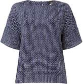 Max Mara Weekend Burano bell sleeve top with round neck