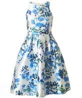 Forever Unique Floral Fifties Style Dress