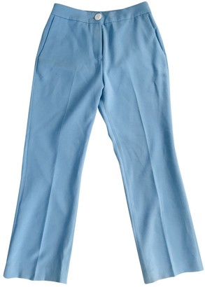 2nd Day Blue Trousers for Women