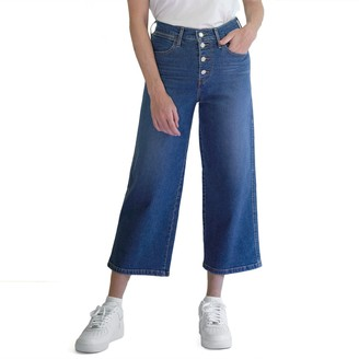Levi's Women's Mile High Wide-Leg Crop Jeans