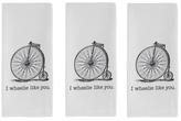 I Wheelie Like You Dish Towels (Set of 3)