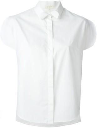 DELPOZO Slit Short-Sleeve Shirt