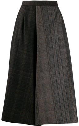 Stephan Schneider A-line patchwork skirt