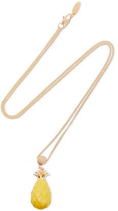 Zimmermann Gold-tone Enamel Necklace
