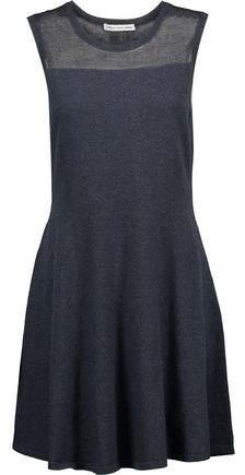 Autumn Cashmere Paneled Cotton Mini Dress