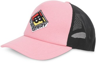 Burberry Logo Graphic Baseball Cap
