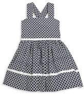 Helena and Harry Toddler's & Little Girl's Geometric Crossback Dress