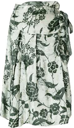 A.N.G.E.L.O. Vintage Cult Floral Print Skirt