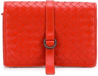 Bottega Veneta Pre-Owned Intrecciato Weave Wallet