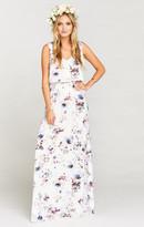 MUMU Kendall Maxi Dress ~ Bouquet Beauty