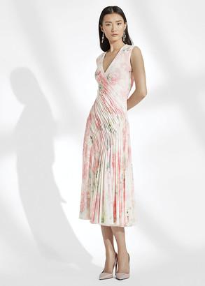 Ralph Lauren Annabeth Floral Jersey Dress