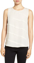 Nic+Zoe Crossover Pleat Front Tank