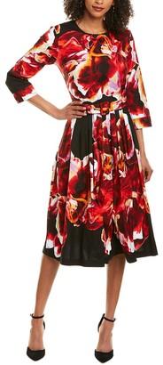 Samantha Sung Florance Midi Dress