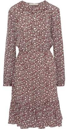 Vanessa Bruno Printed Crepe De Chine Shirt Dress