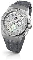 TW Steel CEO Tech CE4005 Sandblasted Case and Diamonds 44mm Mens Watch