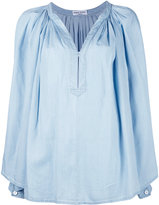 Sonia Rykiel pleated blouse - women - Tencel - 40