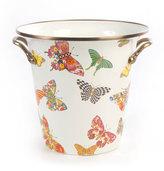 Mackenzie Childs MacKenzie-Childs White Butterfly Garden Wine Cooler