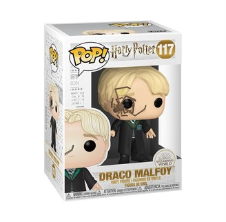 Funko POP Movies: Harry Potter - Malfoy with Whip Spider