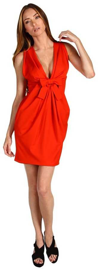 DSquared DSQUARED2 - Miss Jackie Dress (Coral) - Apparel