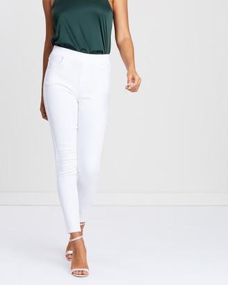 Mossée Kim Elastic Waist Stretch Pants