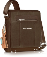 Piquadro Link - Vertical Messenger Bag