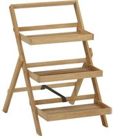 Crate & Barrel Regatta Folding Plant Stand